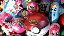 Surprises My Little Pony Pokemon Ball Pikmi Pops Bubble Drops Slime