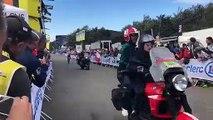 """""""Allez Thibaut"""" : dans les derniers mètres de la Planche des Belles Filles, les supporters donnent de la voix"""