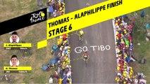 Finish Thomas - Alaphilippe / Thomas - Alaphilippe Finish - Étape 6 / Stage 6 - Tour de France 2019