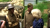Camilla mans trenches to celebrate RAF Halton centenary