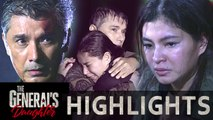 Marcial and Rhian survive the boat explosion   The General's Daughter