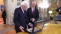 Roma - Nuovi distintivi di qualifica presentati al presidente Mattarella (11.07.19)