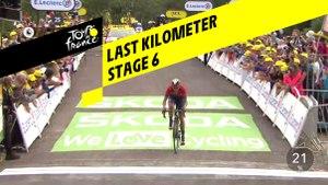 Last kilometer / Flamme rouge - Étape 6 / Stage 6 - Tour de France 2019