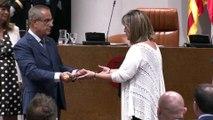 Núria Marín, presidenta de la Diputación de Barcelona con apoyo de JxCat