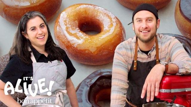 Brad and Claire Make Doughnuts Part 1