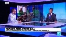 French government attacks waste: A 'very ambitious' bill