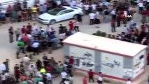 Kızıltepe'de feci kaza...Beton mikseri kadını ezdi