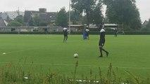 Le Sporting de Charleroi en stage à Kamen (Allemagne) - jour 6 - jeux d'adresse: jonglages