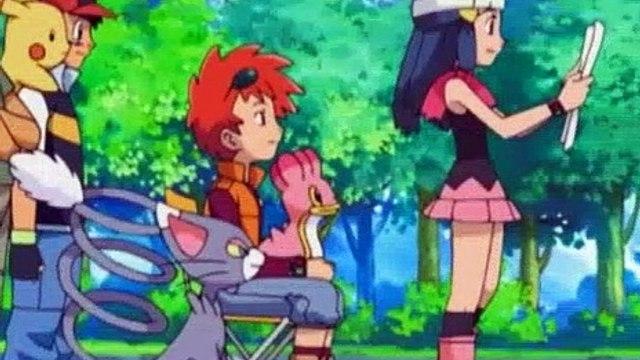 Pokemon Season 10 Episode 41 A Stand-Up Sit-Down