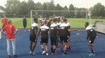 Le Sporting de Charleroi en stage à Kamen (Allemagne) - jour 6 - team building