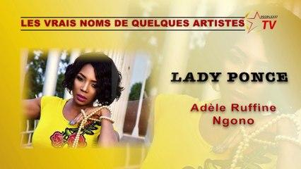 Les vrais noms des artistes camerounais à l'état civil !
