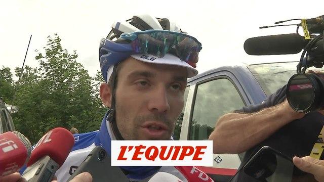 Thibaut Pinot «Je suis satisfait» - Cyclisme sur route - Tour - 6e étape