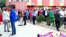 Mardin'de beton mikserinin çarptığı yaya öldü