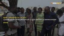 Bénin : le maire Isidore Gnonlonfoun sur les sites devant abriter les festivités du premier Août