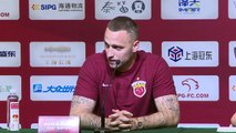 Arnautovic attacks European media at first Shanghai SIPG press conference