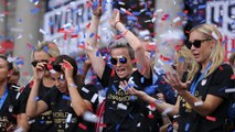 The Jim Rome Show: U.S. Women's National Team celebrates fourth World Cup win