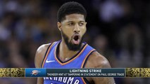 The Jim Rome Show: Thunder hint at tampering on Paul George trade