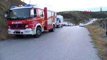 Ankara'da otomobil 300 metreden vadiye düştü: 1 ölü