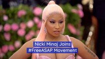 Nicki Minaj Wants ASAP Out Of Sweden