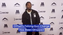 Offset Gets Off On Gun Charge