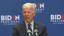 "Biden calls Trump ""dangerously incompetent"" in foreign policy speech"