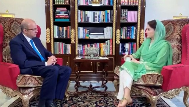Interview of Maryam Nawaz Sharif with Nadeem Malik
