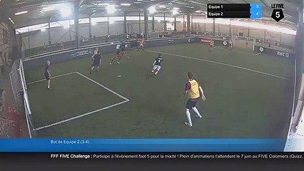 But de Equipe 2 (3-4) - Equipe 1 Vs Equipe 2 - 11/07/19 20:06 - Loisir Colomiers (LeFive)