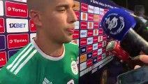 Feghouli en zone mixte après la victoire face aux Ivoiriens