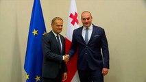 """L'Unione europea """"arbitro"""" dei rapporti tra Georgia e Russia"""