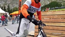 Val d'Isere, les animations moto