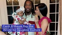 Cardi B Shares Rap She Wrote for Daughter Kulture