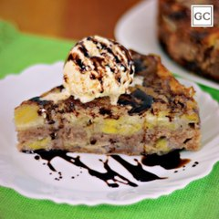 Torta de banana fácil   Receitas Guia da Cozinha