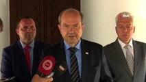 """- KKTC Cumhurbaşkanı Akıncı, Başbakan Tatar ile Görüştü- Tatar: """"Kıbrıs Adası Etrafındaki..."""