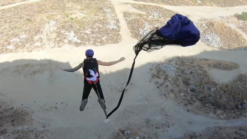Danger Won't Stop These Adrenaline Junkies From BASE Jumping