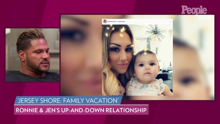 Ronnie Ortiz-Magro on His Up & Down Relationship with Jen Harley: 'Right Now...We're Good'