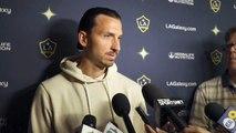 Galaxy's Zlatan Ibrahimovic speaks ahead of match versus Earthquakes