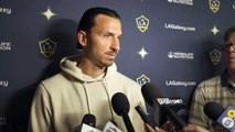 Galaxy's Zlatan Ibrahimovic speaks ahead of match versus Earthquakes