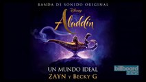 Zayn and Becky G Give 'Aladdin' Theme Latin Makeover on 'Un Mundo Ideal'