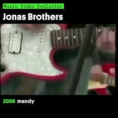 Music Video Evolution: Jonas Brothers