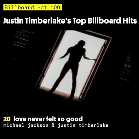 Justin Timberlake's Top Billboard Hits
