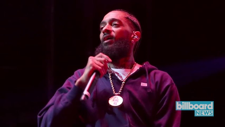 Nipsey Hussle Dead at 33 After Being Shot Outside His Los Angeles Store   Billboard News