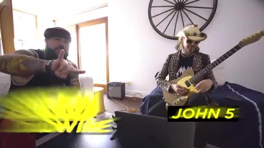 John 5's Shredding is Otherworldly
