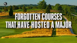 Forgotten Courses That Have Hosted a Major
