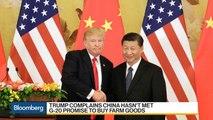 Trump Slams China Ahead of Trade Data