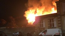 Incendie au haras de Saint-Lô le 12 juillet 2019