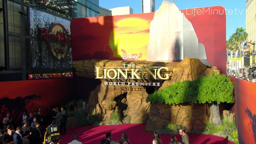 Beyonce, Donald Glover and More at The Lion King World Premiere