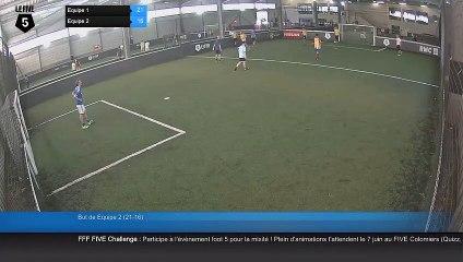 But de Equipe 2 (21-16) - Equipe 1 Vs Equipe 2 - 11/07/19 18:34 - Loisir Colomiers (LeFive)