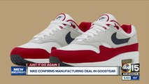 """Governor Doug Ducey reverses stance, """"welcomes"""" Nike facility to Goodyear"""