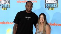 "Kawhi Leonard Gets Scolded ""Kids' Choice Sports 2019"" Orange Carpet"