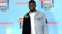"Zion Williamson ""Kids' Choice Sports 2019"" Orange Carpet"
